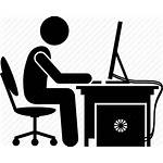 Computer Gamer Clip Gaming Icon Pc Playing