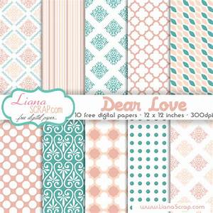 free digital paper pack dear love set by lianascrap on With digitize paper documents
