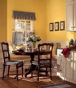 Küche Streichen Ideen : farbe k che streichen landhausstil gelb satt sonnig k chen pinterest landhausstil gelb ~ Markanthonyermac.com Haus und Dekorationen