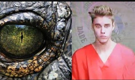 illuminati reptilian fans claim to seen justin bieber shape shift into a