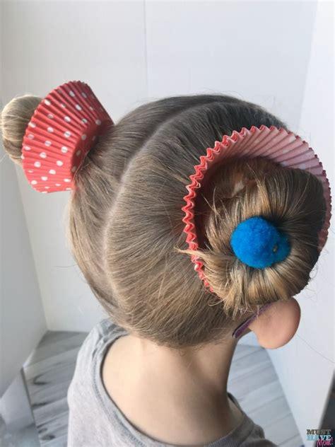 hair day hair day ideas cupcake hairdo hair