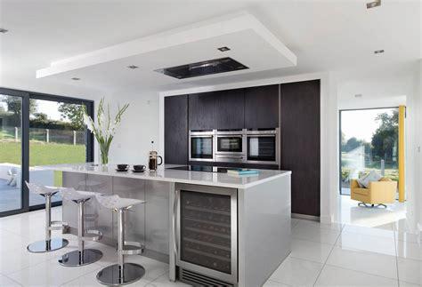 grey contemporary kitchen walnut kitchen dublin 1486