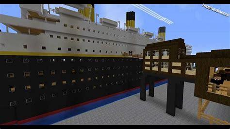 Minecraft Titanic Sinking Mod by Minecraft The Story Of The Titanic
