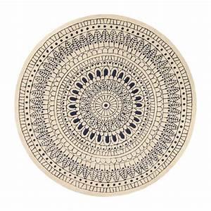 Tapis Rond Design : jobi tapis rond tuft 200cm habitat ~ Teatrodelosmanantiales.com Idées de Décoration