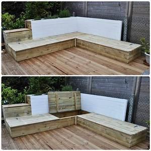 1000 idees a propos de meridienne de palette sur With idee pour jardin exterieur 3 les palettes reinventent le mobilier de jardin