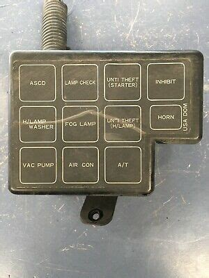 1988 Nissan 300zx Fuse Diagram by 1986 Nissan 300zx Z31 Auto Non Turbo Test 163 2 100