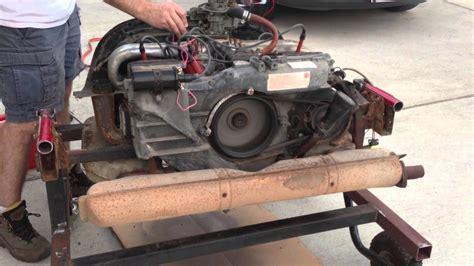 1974 Vw Type 4 1.8l Bus Engine Running