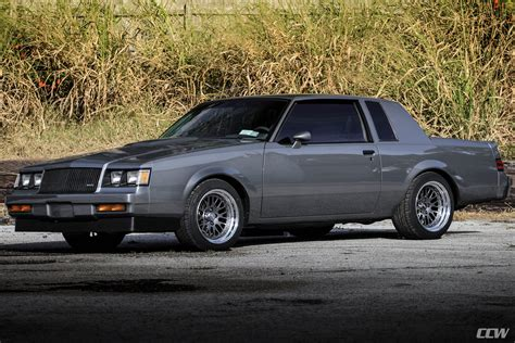 gray buick grand national ccw classic forged wheels