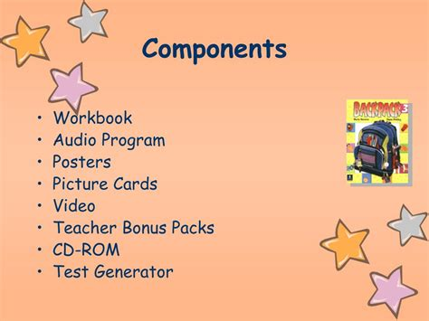 ppt backpack dodea language or grade level powerpoint