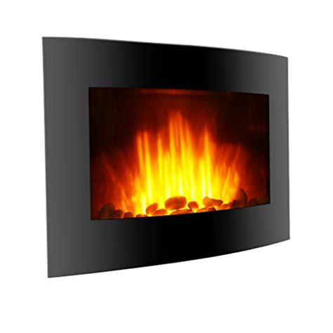 finether  adjustable wall mounted electric fireplace
