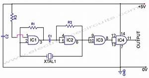 Ttl Crystal Oscillator Schematic
