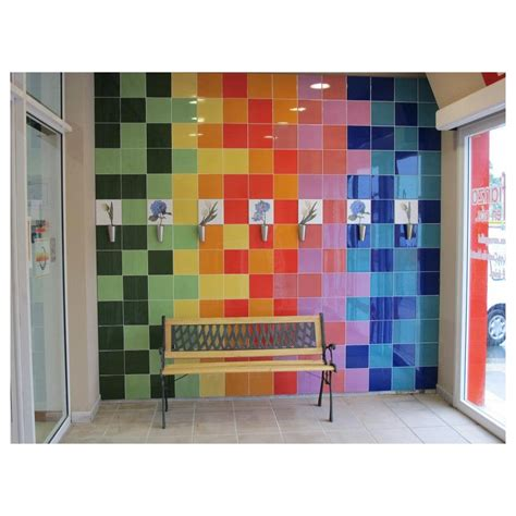 Carrelage Mural Faience Chroma Brillant Couleur Uni