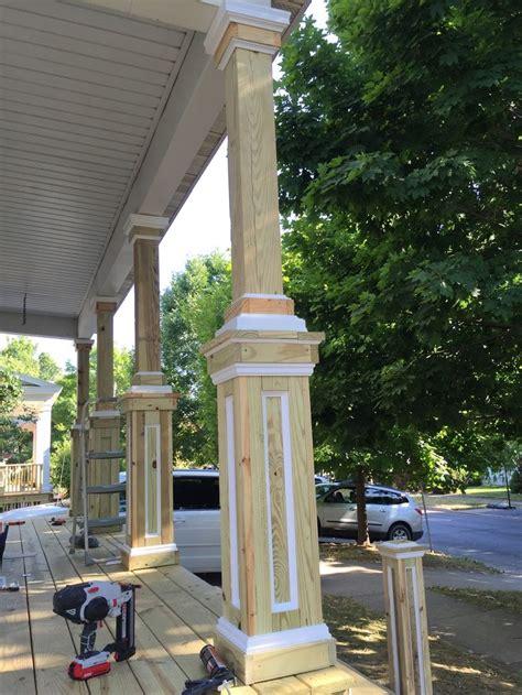 columns ideas  pinterest front porch remodel