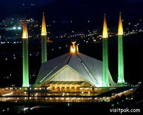 Faisal Mosque Hd Pics by The Great Faisal Mosque Of Islamabad Pakistan