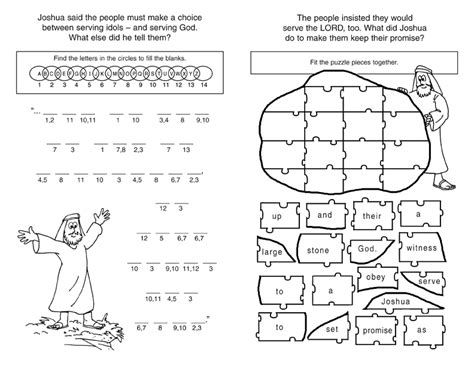 6 Best Images Of Printable Bible Worksheets On Books  Free Bible Printables, Free Bible