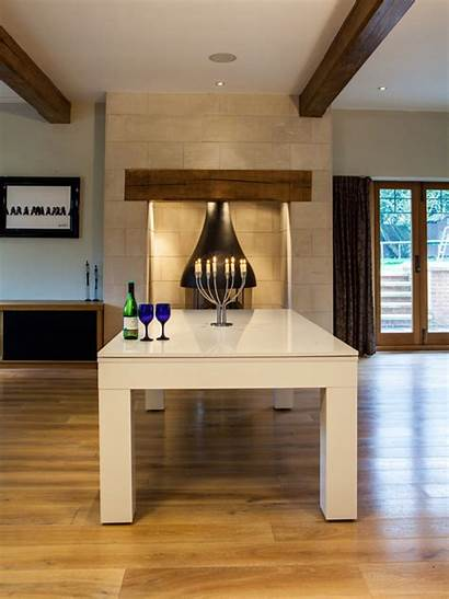 Dining Table Pool Milano Duo Tables Gloss