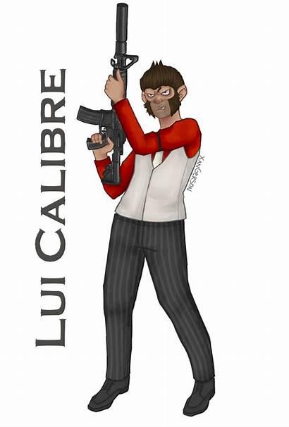Lui Calibre Vanoss Crew Gta Squad Gamer
