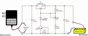 Simple Gel Cell Battery Charger Circuit