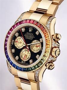 Rolex Cosmograph Daytona Rainbow Boasts Colourful Design ...