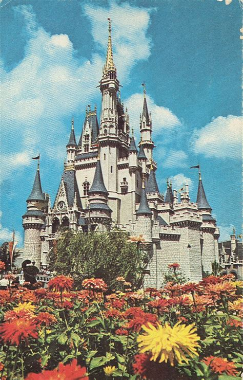 Disney Vacation Kingdom: Cinderella Castle Postcards