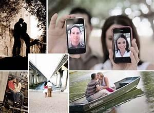 Creative Ideas for Stylish Engagement Portraits ...