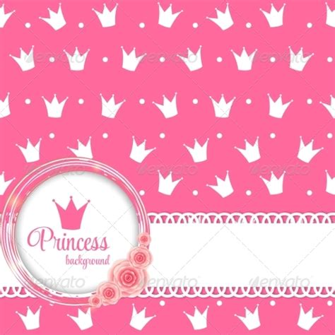 princess crown background vector illustration  yganko