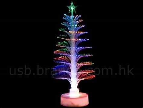 usb fiber optic christmas tree