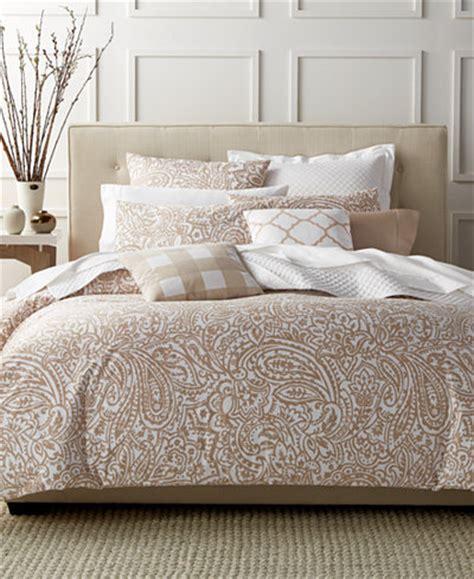 charter club damask designs paisley taupe king comforter