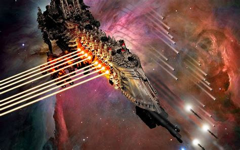 wallpaper warhammer  striking force battle barge bring