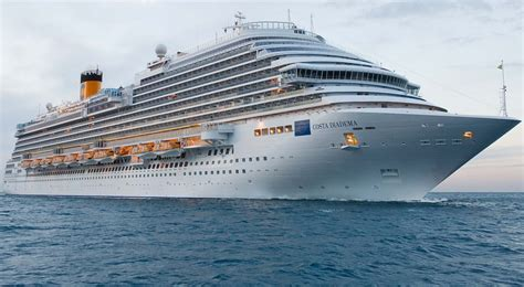 Costa Diadema - Itinerary Schedule Current Position | CruiseMapper