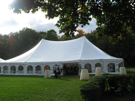 wedding tent package for 120 guests differrentals