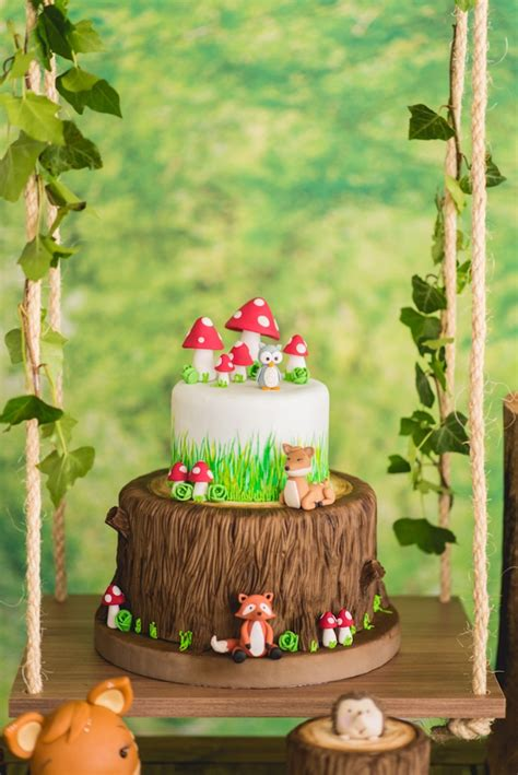 Kara's Party Ideas Matteos Enchanted Forest Birthday Party