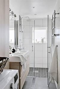 1000 idees a propos de salle de bains etroite sur With salle de bain tres petite