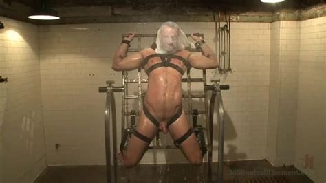Kinky Gay Enjoys Suffering From Bondage And Water Tortures Porn Video At XXX Dessert Tube