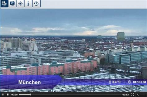live munich real time city center weather