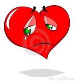 Sad Heart Cartoon