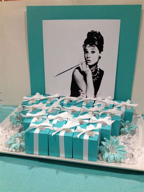 breakfast  tiffanys birthday party ideas photo