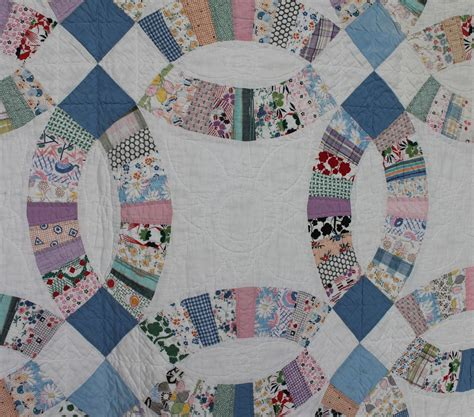 wedding ring quilt bargain s antiques 187 archive antique quilt
