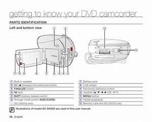 Samsung Camcorder Sc