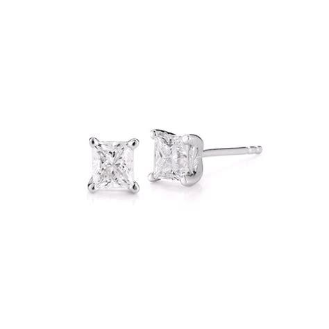 lso jewelers repair paramount gems 2 cttw princess cut studs