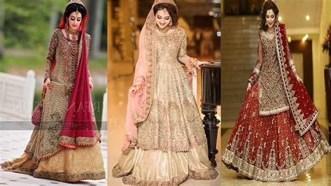 Bridal Dresses For Barat   letest Bridal Weding Dresses    2018    Pakistani    Indians