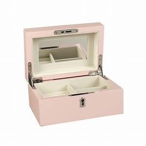 Coffre à Bijoux Bois : coffre bijoux en bois laqu rose p le laval europe ~ Premium-room.com Idées de Décoration