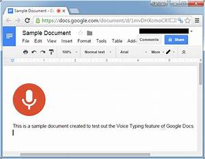 how to use voice typing in google docs using speech to With google docs voice typing android
