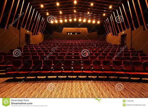 cinema hall royalty  stock image image