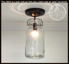 kitchens with pendant lights vintage jar chandelier light fixture by l goods 6641