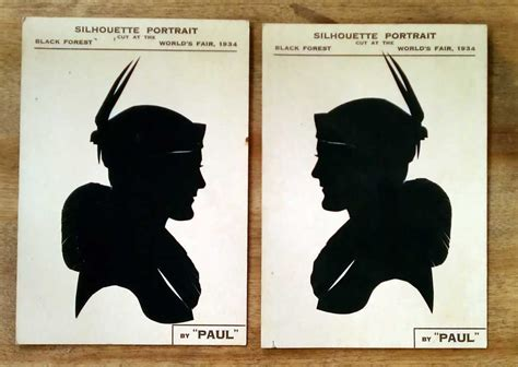 profiles  vintage silhouette artists  shady