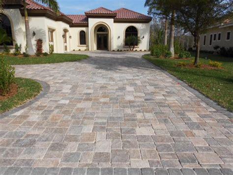 driveway pavers ta tremron stonehurst mahogany ash