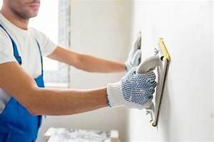 Enduit Exterieur Avant Peinture : appliquer un enduit de lissage ~ Premium-room.com Idées de Décoration