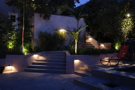 modern outdoor lighting ideas modern staircase lighting contemporary landscape los