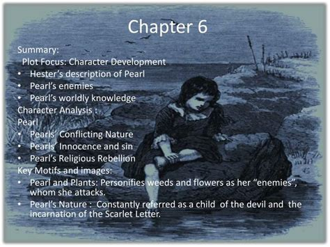 scarlet letter summary ppt the scarlet letter chapters 5 8 powerpoint 24755